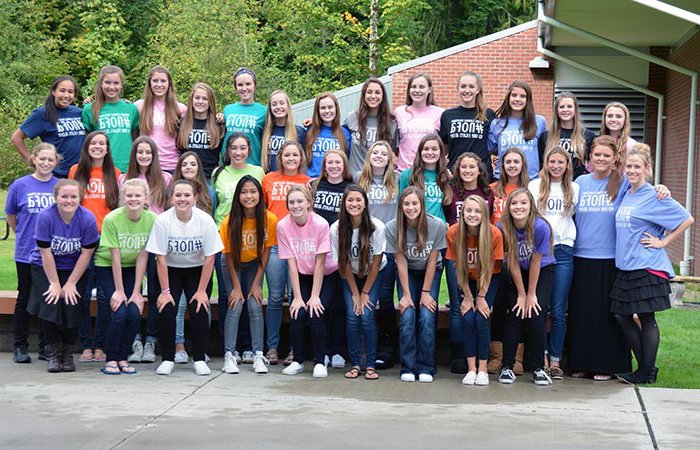 Girls Volleyball Hosts Eighth Annual No One Fights Alone (NOFA) Event